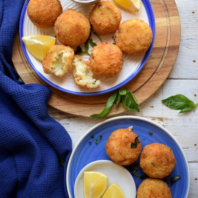Arancini Made with Leftover Risotto