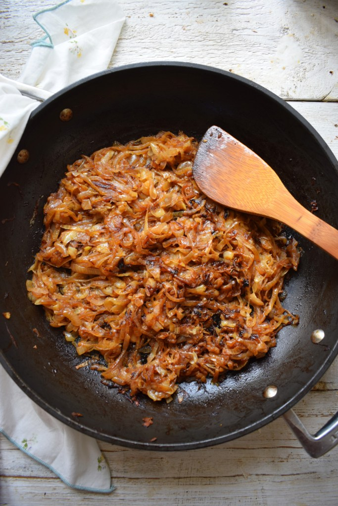 How To Caramelize onions in a skillet