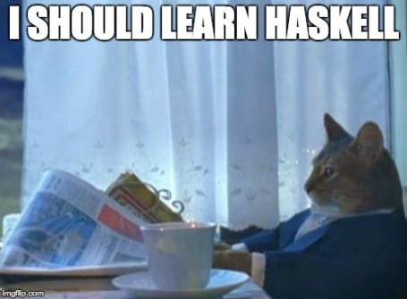 Haskell cat