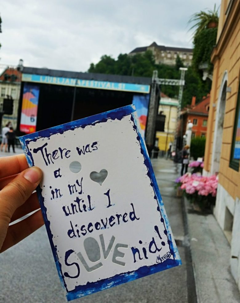 """""""There was a whole in my heart until I discovered SLOVEnia!"""""""