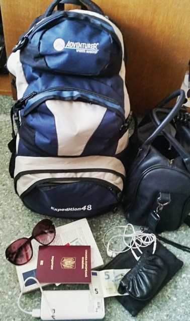 backpack for traveling alone
