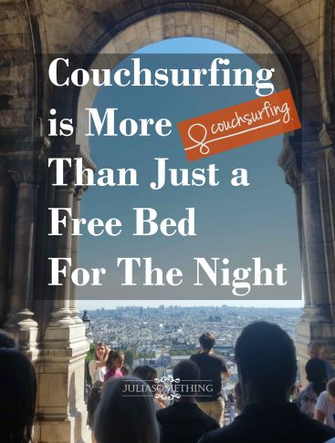 Couchsurfing is more than just a free bed for the night