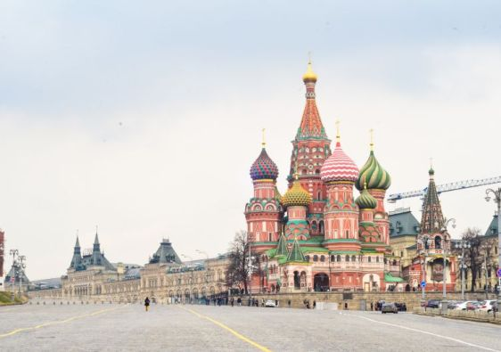 Saint Basil's Cathedral. Travelling to Russia cheapest countries in Europe