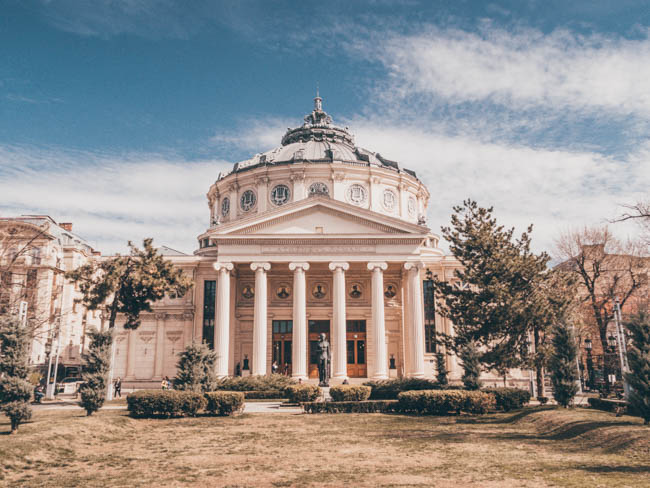 bucharest atheneum The Romanian Atheneum 10 Amazing Places To Visit When You're In Bucharest