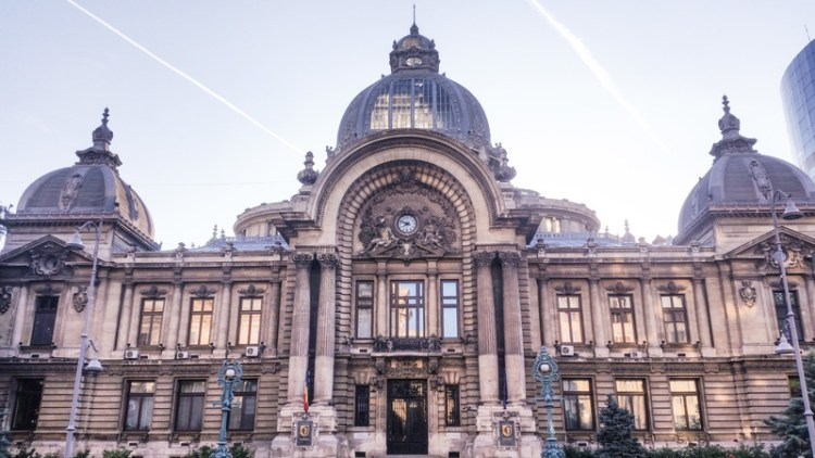 Questo discover people, places and stories Bucharest Romania CEC building