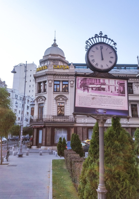 Calea Victoriei Questo discover people, places and stories Bucharest Romania Hotel Capsa