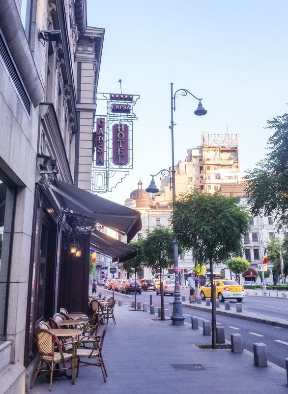 Questo discover people, places and stories Bucharest Romania Calea Victoriei