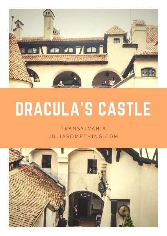 Dracula's Castle in TRansylvania, Romania.