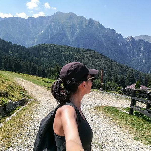 Bucegi mountains hiking