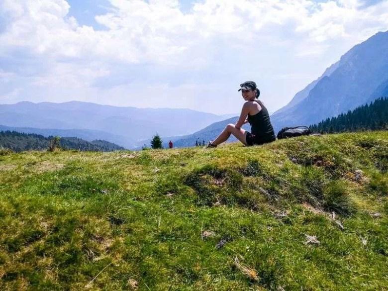 Bucegi mountains hike