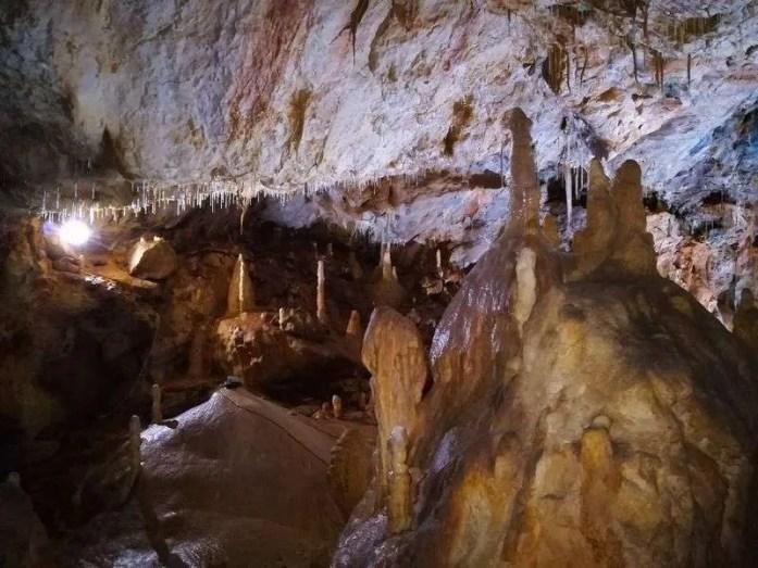 bears cave 4 day car trip around Romania