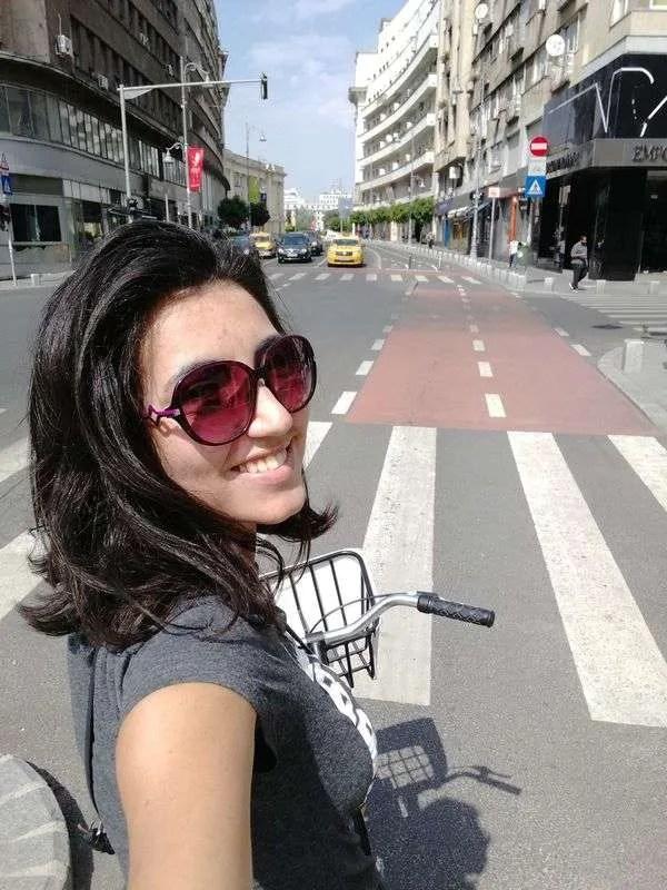 Biking in Bucharest