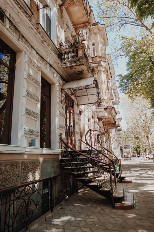 spend 2 days in Odessa, Ukraine