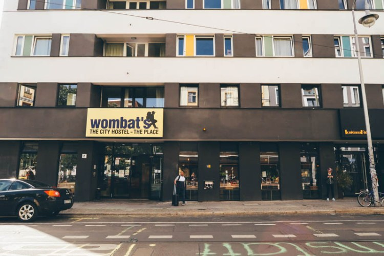 wombat's City Hostel Berlin self guided walking tour berlin before and after the wall