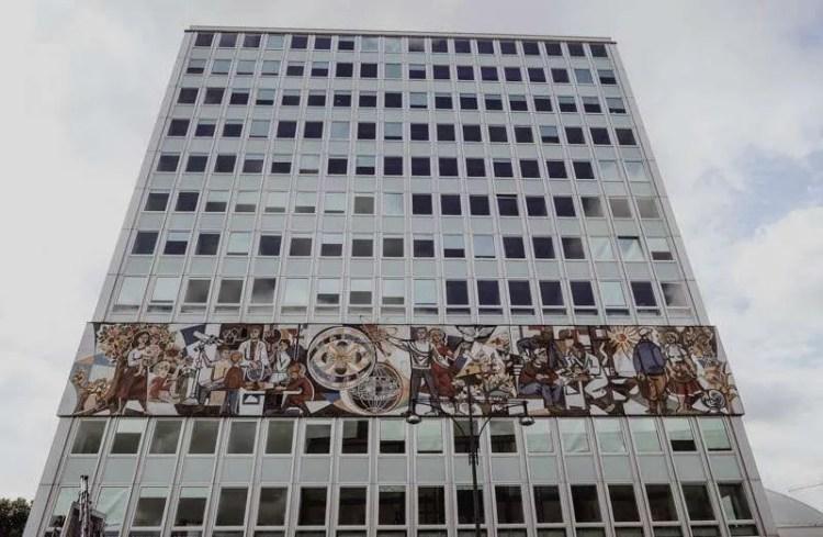 Wombats city hostel berlin self guided walking tour central Berlin The Teacher's House Lehrerhaus Alezanderplatz