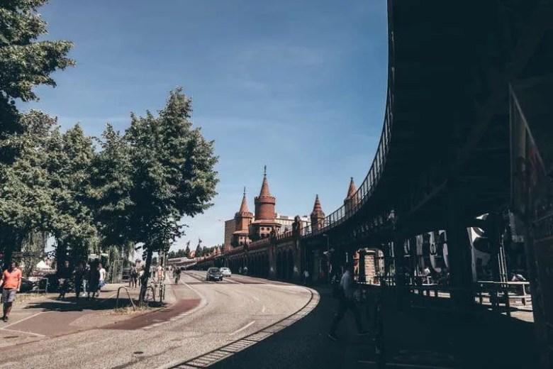 Oberbaum Bridge kreuzberg berlin