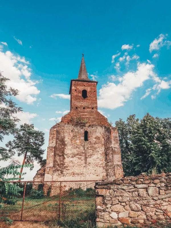 Medieval church Martinuzzi Castle heritage trip romania