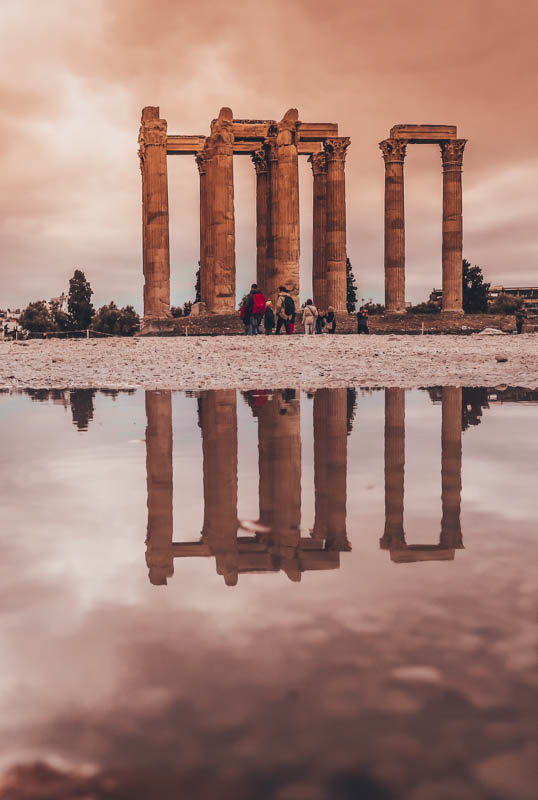 Temple of Olympian Zeus visit athens how I spent 7 days in Athens, Greece
