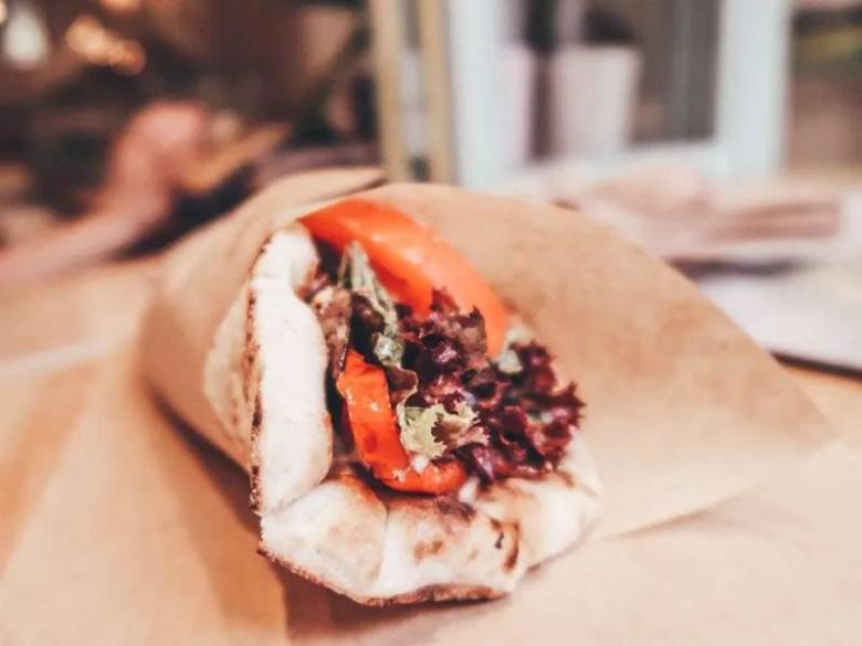 5 vegan restaurant in Athens Peas Vegan & Raw Food