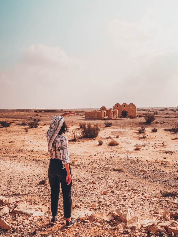 Quseir 'Amra sand castle 7-day road trip guide to Jordan