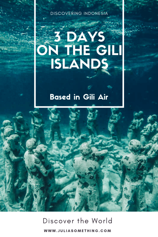 3 days on the Gili islands (base in Gili Air) #gili #bali #lombok #indonesia #travel
