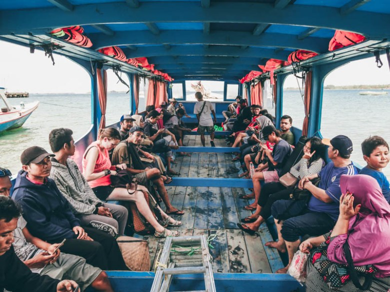 local boat lombok to gili islands (3 days on the gili islands) Gili air