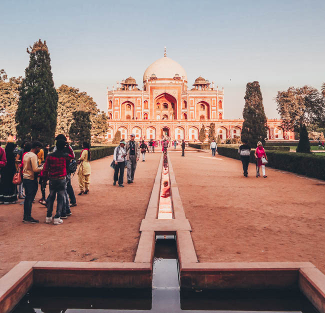 Humayun's Tomb first time in india what to do in delhi india