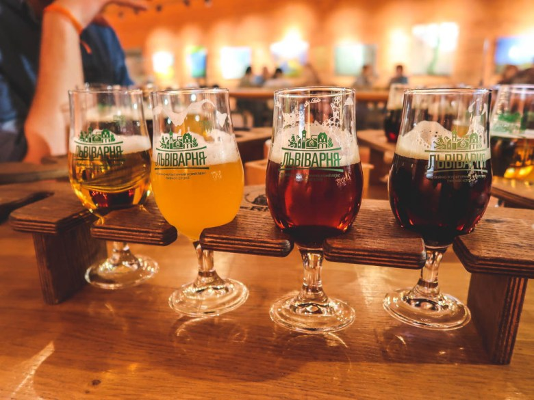 """Why do you need to visit Lviv, the western city of Ukraine Beer Cultural Experience Center """"Lvivarnya"""""""