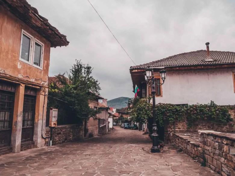 the old street Discover Dryanovo on a day trip from Veliko Tarnovo, Bulgaria