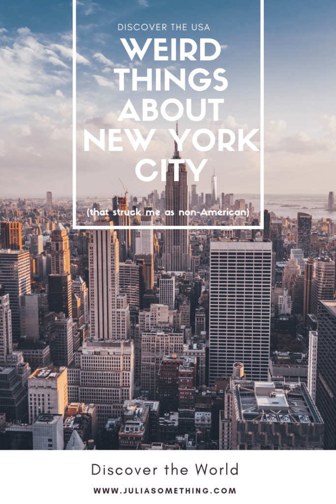 Weird things about new york