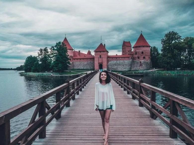 Trakai Island Castle Eastern Europe road trip itinerary 2-4 weeks (Baltic road trip itinerary)