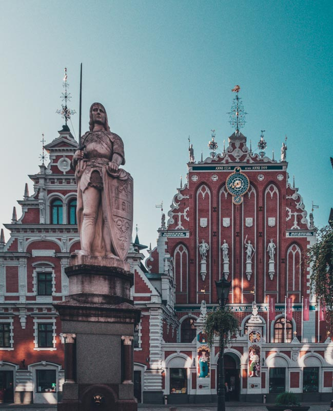 riga latvia Eastern Europe road trip itinerary 2-4 weeks (Baltic road trip itinerary) cheapest countries in Europe