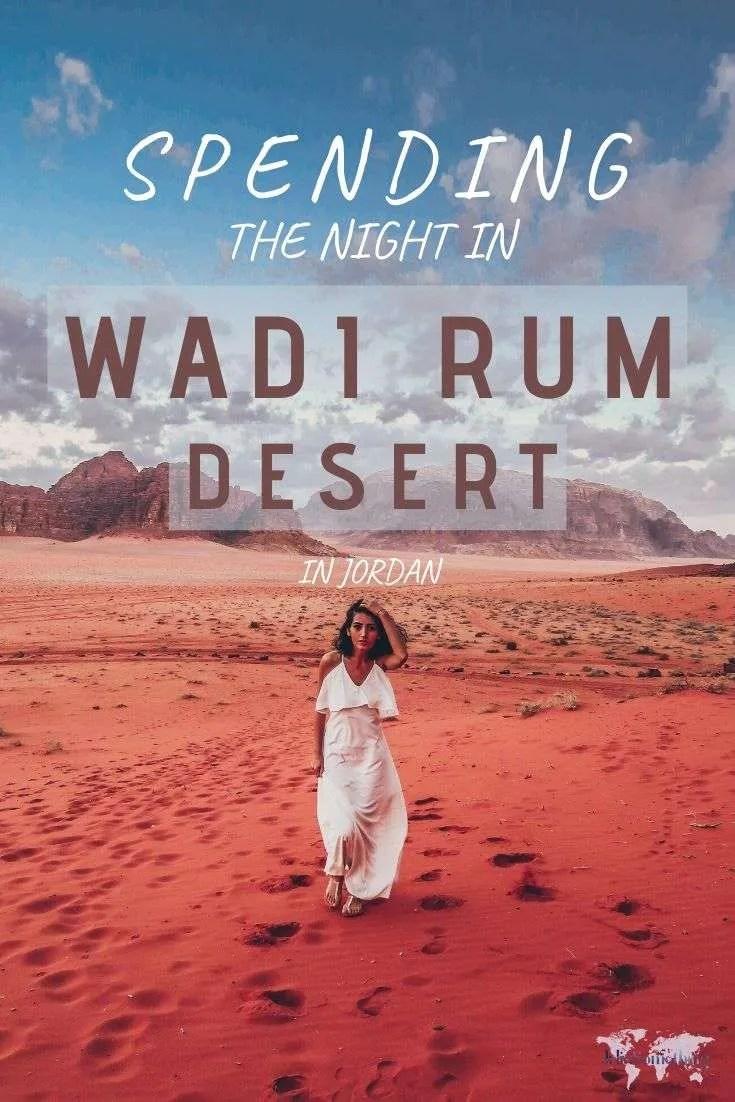 Spending a night in the Wadi Rum desert in Jordan! #Jordan #desert #wadirum #desertcamp #desertsky #middleEast