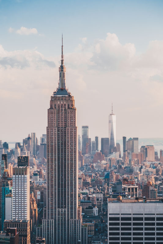 What is New York City famous for?