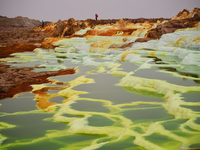 Why do people travel in inhospitable places  Danakil Depression
