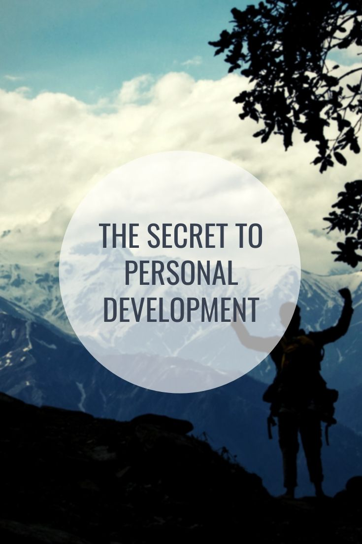 The secret to personal development #solotravelling #selfimprovement #journey
