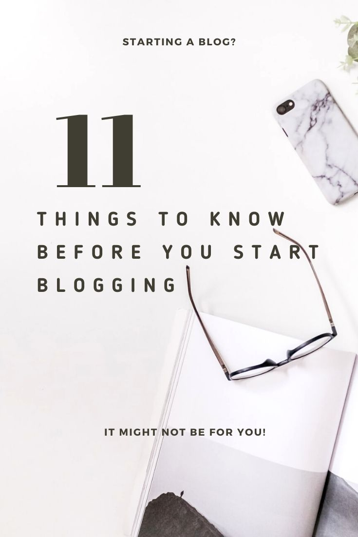 Is blogging for me? blogging 101 Things you should know before you start blogging #blogging #bloggingtips