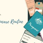 The travel skincare routine of a female budget traveller
