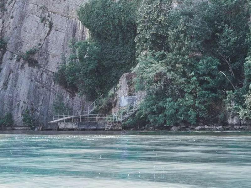 Grota Veterani places to see in romania cazanele dunarii Danube gorges Dobova motor boat tour