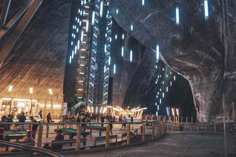Turda Salt Mine A 5-day Romania road trip: Castles, 2000-year-old ruins and natural wonders