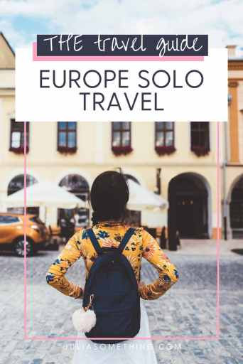 Europe Solo Travel
