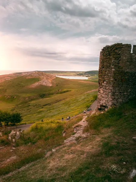 Enisala Fortress What to see in Dobrogea, Romania on a 3-day road trip from Bucharest