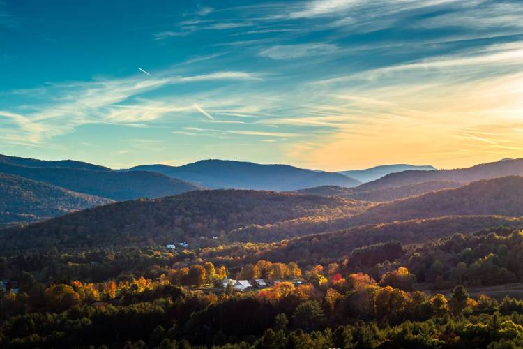 24 Woodstock, Vermont Best places to visit in September in the USA