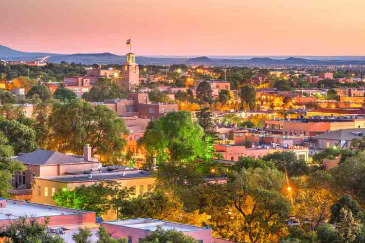 28 Santa Fe, New Mexico Best places to visit in September in the USA