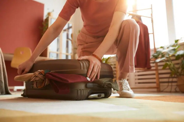 overpacking travelling alone as a woman