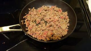 Cook breakfast sausage