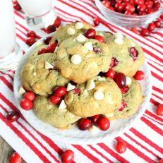 70 cranberry orange creamsicle cookies