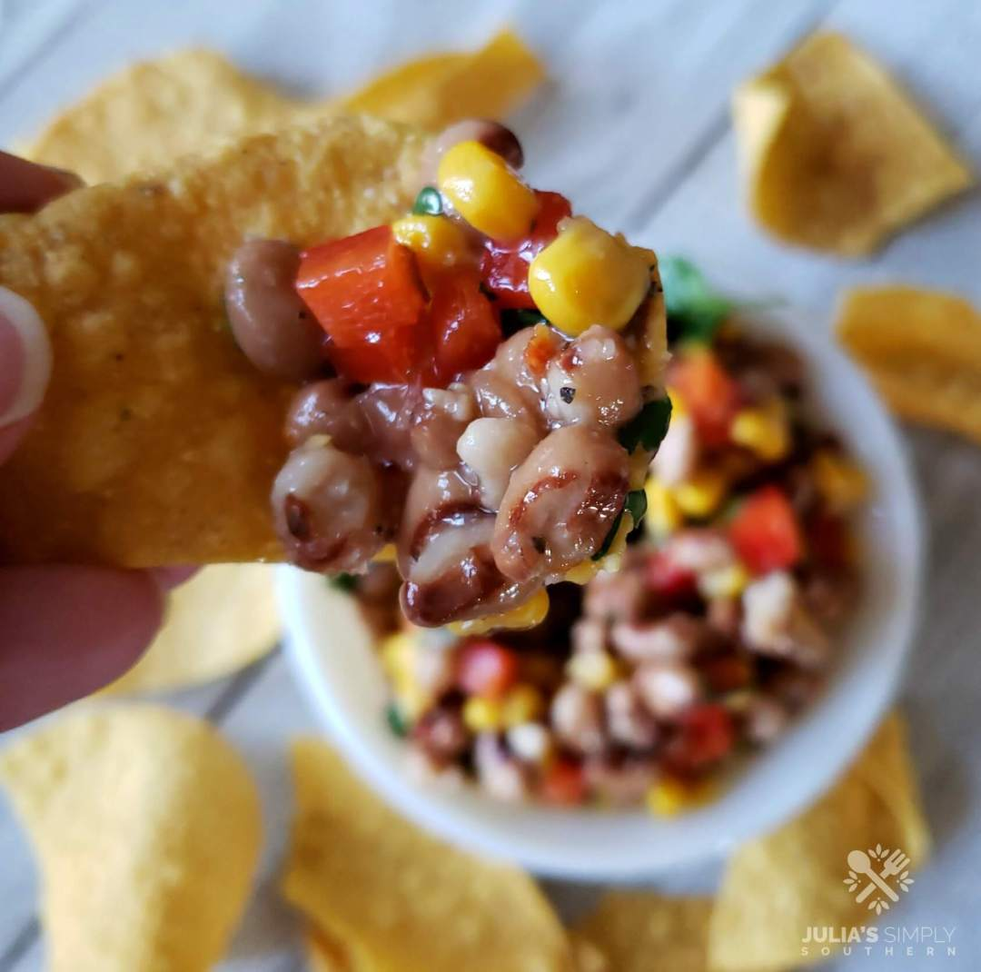 Best Black Eyed Pea Dip for parties