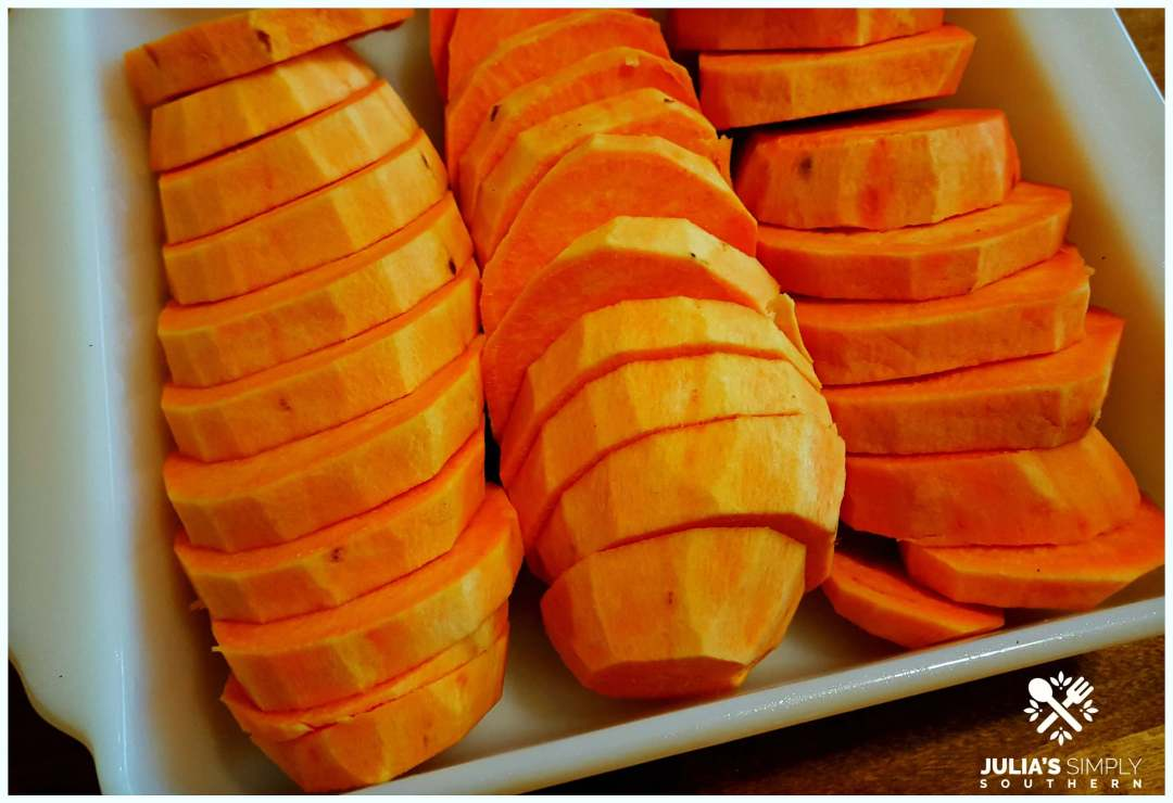 How to make candied yams recipe