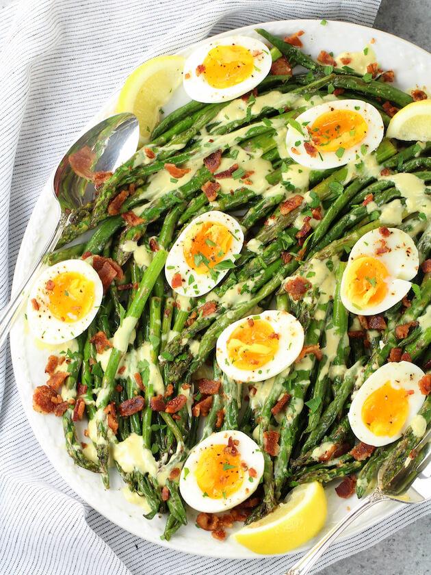 Egg and Asparagus Salad